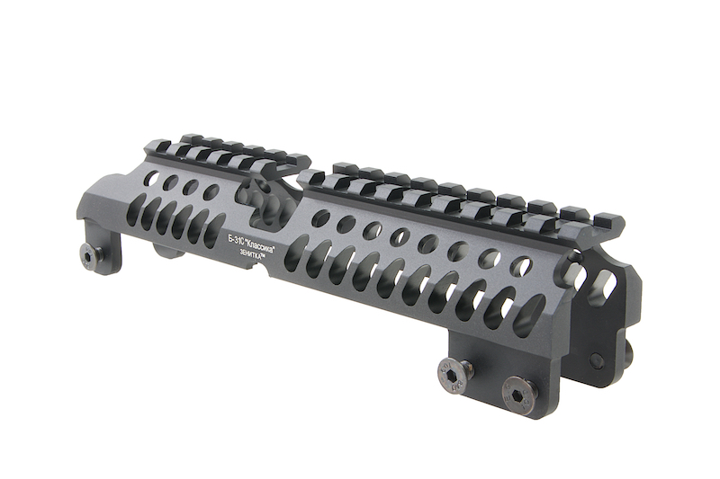 Airsoft Surgeon B-31C AK Handguard for AK74 / AK105 AEG / GBB - Black