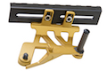 Airsoft Surgeon Aluminum Mount for Tokyo Marui Hi-Capa GBB Series - Gold