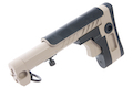 Airsoft Surgeon PT-3 AK Telescopic Foldable Stock for AK AEG / GBB - Tan