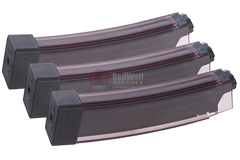 ASG 75rds CZ Scorpion EVO3A1 Magazine (Smoky / 3 Pack)
