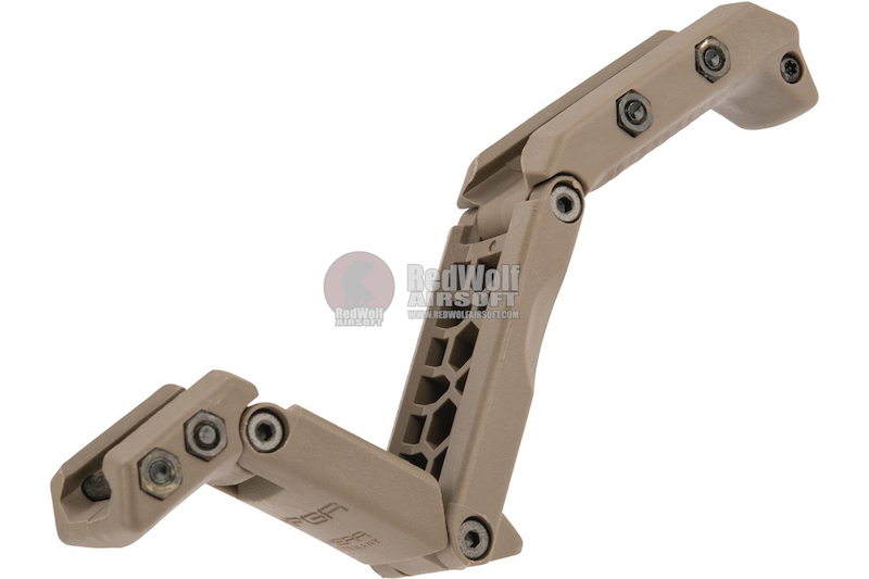 HERA ARMS HFGA Multi- Position Front Grip (Licensed by ASG) - Tan