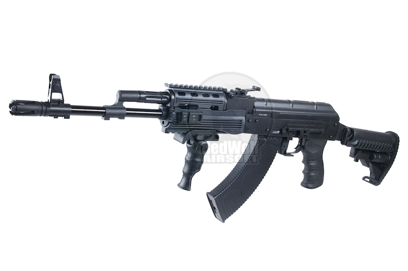 APS AKS-74 PMC Tactical with Side Scope Mount Electric Blowback - AEG