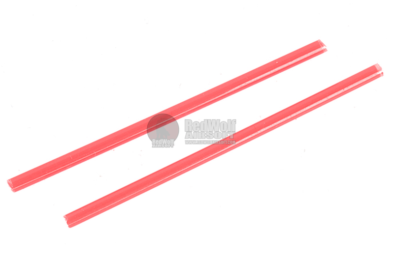 Airsoft Surgeon Ultra Bright Fiber Optic (1.5mm) for Gun Sight  - Red (50mm x 2pcs)