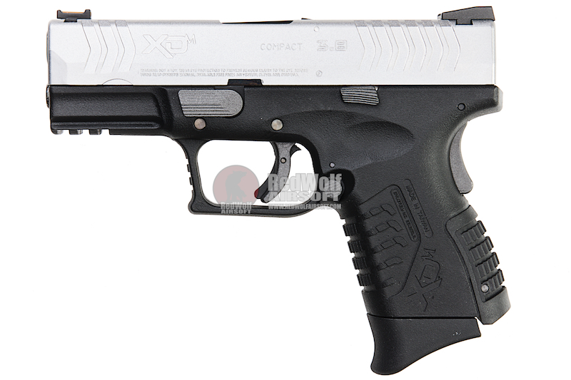WE (Air Venturi) XDM (3.8 Compact) GBB Pistol (Licensed by Springfield Armory) - Silver