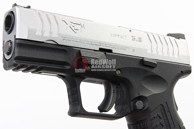 WE (Air Venturi) XDM (3 8 Compact) GBB Pistol (Licensed by Springfield  Armory) - Silver