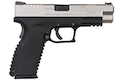 WE (Air Venturi) XDM (4.5 inch) GBB Pistol (Licensed by Springfield Armory) - Silver