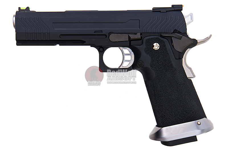 AW Custom HX11 Series Full Metal Gas Blowback Pistol - Black