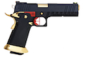 AW Custom HX20 Series 'Competitor' Hi-Capa Gas Blowback Pistol - Black / Gold