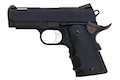 AW Custom NE10 Series 1911 Officer Size Gas Blowback Pistol - Black