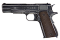 AW Custom NE20 Series Full Metal Custom 'Molon Labe' 1911A1 Gas Blowback Pistol - Brown Grip