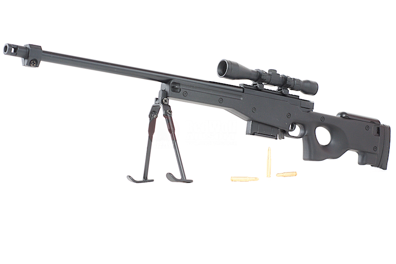 Blackcat Airsoft Min Model Gun AWP - Black