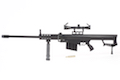 Blackcat Airsoft Mini Model Gun M82A1 Short Rail (Scale 1:4)
