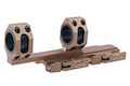 Blackcat Airsoft 25/30 mm QD Extension Dual Scope Mount - TAN