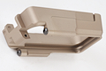 Blackcat Airsoft CNC Aluminium Magwell for M4 AEG / GBB Series - Tan