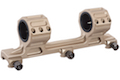 Blackcat Airsoft 25/30mm GE Big Dual Scope Mount - Tan