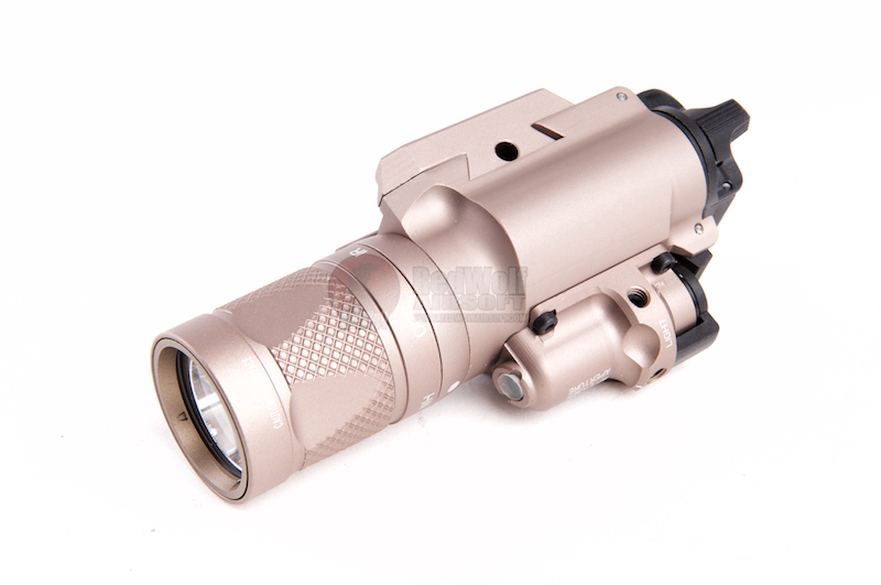 Blackcat Airsoft 400V Style Tactical Flashlight - Tan