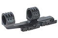 Blackcat Airsoft 30/35mm QD Extension Dual Scope Mount - Black