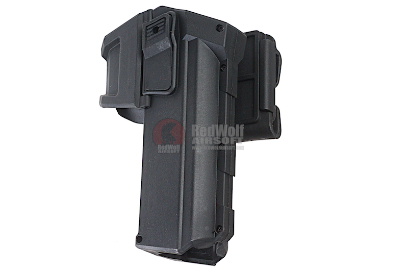 Blackcat Tactical Molle Holster for Tokyo Marui Model 17 / 18 - Black