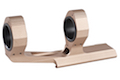 Blackcat Airsoft 25/30mm Long Dual Scope Mount - Tan