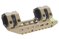 Blackcat Airsoft Light Weight 25/30mm Dual Scope Mount - Tan
