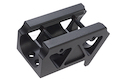 Blackcat Airsoft Multi-Purpose Offset Mount for Red Dot Sight - Black
