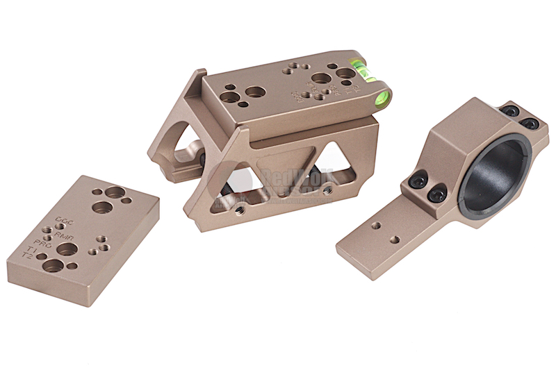 Blackcat Airsoft Multi-Purpose Offset Mount for Red Dot Sight - Tan