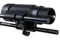 Blackcat Airsoft Retractable Stock for M4 GBB Series - Black