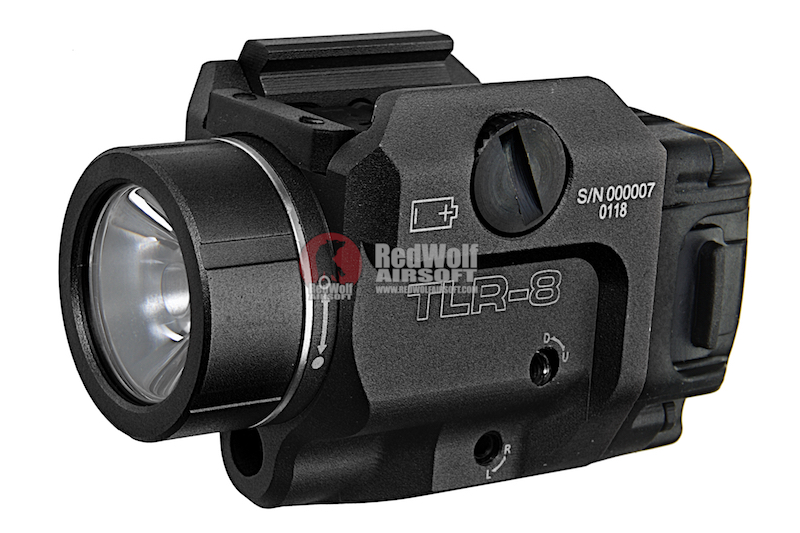 Blackcat Airsoft TLR-8 Tactical Flashlight - Black