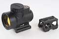 Blackcat Airsoft MRO Style Red Dot Sight with Battle Mount (Black)