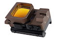 Blackcat Airsoft Folding Red Dot Sight - Tan