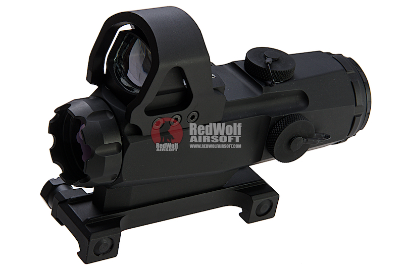 Blackcat Airsoft HAMR Scope with Red Dot Sight