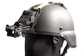 Emerson MICH Helmet 2000 w/ Rhine Night Vision Arms (Black)