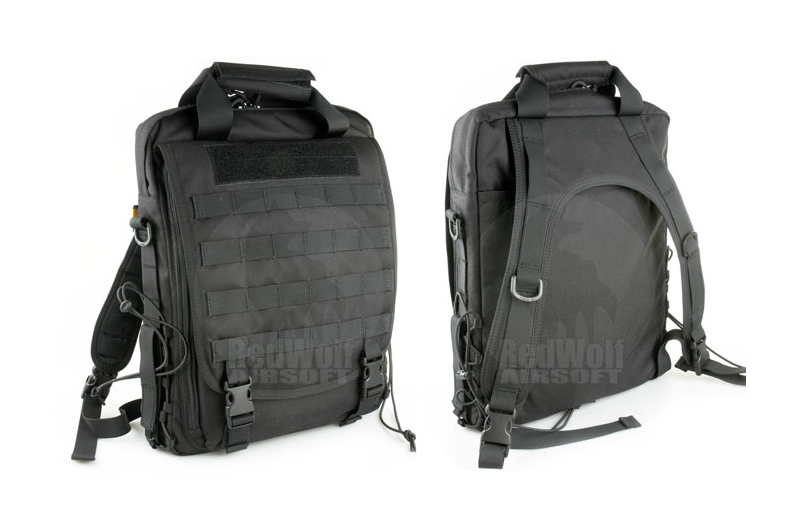 PANTAC Vertical Accessories Backpack (Black, Cordura)