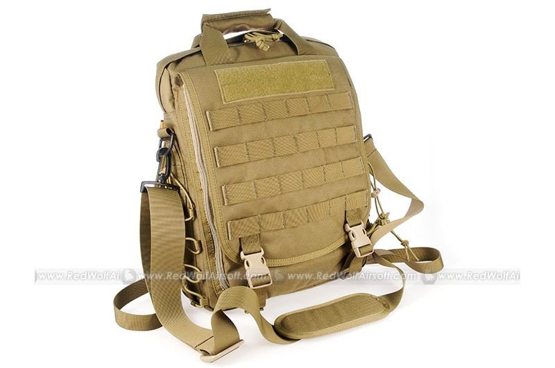 PANTAC Vertical Accessories Backpack (Coyote Brown, Cordura)