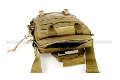 PANTAC Vertical Accessories Backpack (Coyote Brown, Cordura)  <font color=red>(HOLIDAY SALE)</font>
