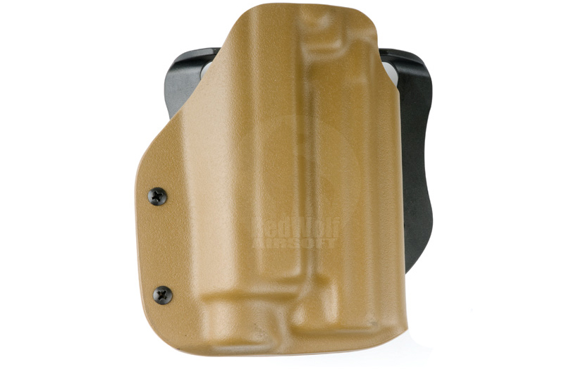 Blade-Tech Kydex Tactical Light Holster w/ Paddle for SIG 226R with M3x/M6x (Right Hand, Dark Earth)(10015)