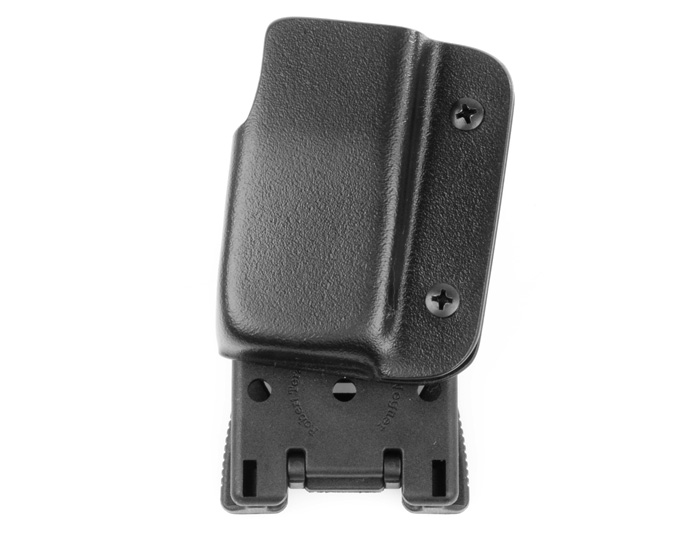 Blade-Tech Kydex Bobby McGee Professional Series Competition Right Handed Magazine Pouch for Hi-Capa With Tek Lok Attachment (Black)