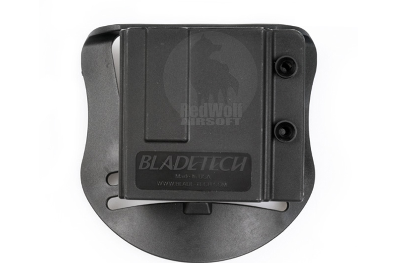 Blade-Tech Injection Molded Mag Pouch for AR-15 Magazine w/ Paddle (Ambidextrous, Black)(11036)