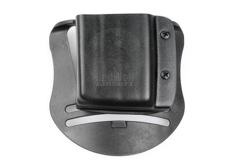 Blade-Tech Kydex Mag Pouch for AR-15 Magazines w/ Paddle (Right Hand, Black)(30043)