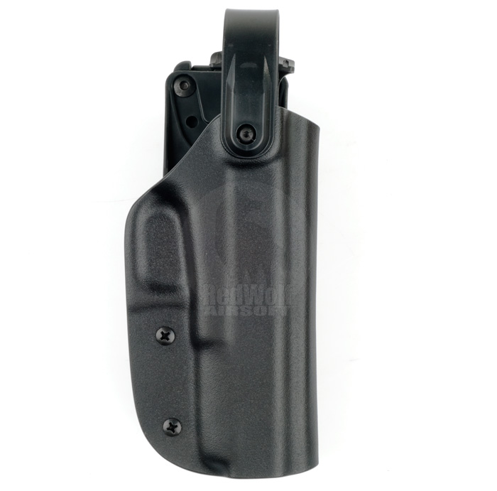 Blade-Tech Kydex WRS Right Handed Duty Holster for G17/22/31 with Tek Lock Attachment (Black)