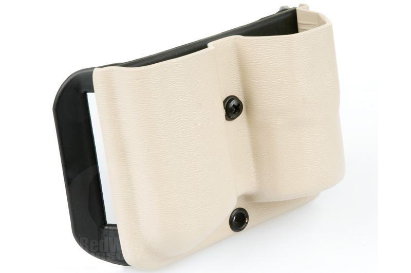 Blade-Tech Kydex Combo Mag Pouch with 2 Inch SR Loop for SureFire G2 & 1911 Mag (Right Hand, Tan)(30032) <font color=red>(Clearance)</font>