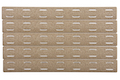 PTS BCM M-Lok Rail Panel Kit (5.5 inc / 5 Pack) - FDE