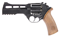 BO Manufacture Chiappa Rhino 50DS .357 Magnum Style Airsoft CO2 Revolver - Black (by Wingun)