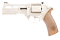 BO Manufacture Chiappa Rhino 50DS .357 Magnum Style Airsoft CO2 Revolver - Silver (by Wingun)