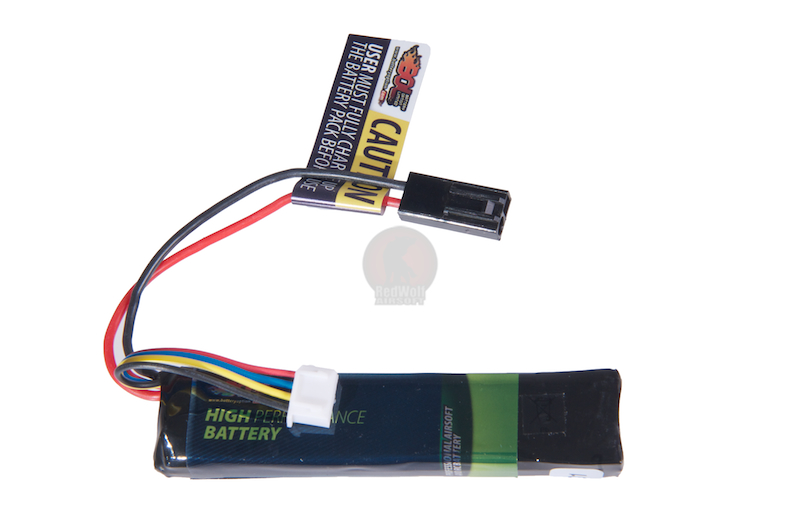BOL Li Po Battery 11.1V 1100mah (Small - Tamiya)