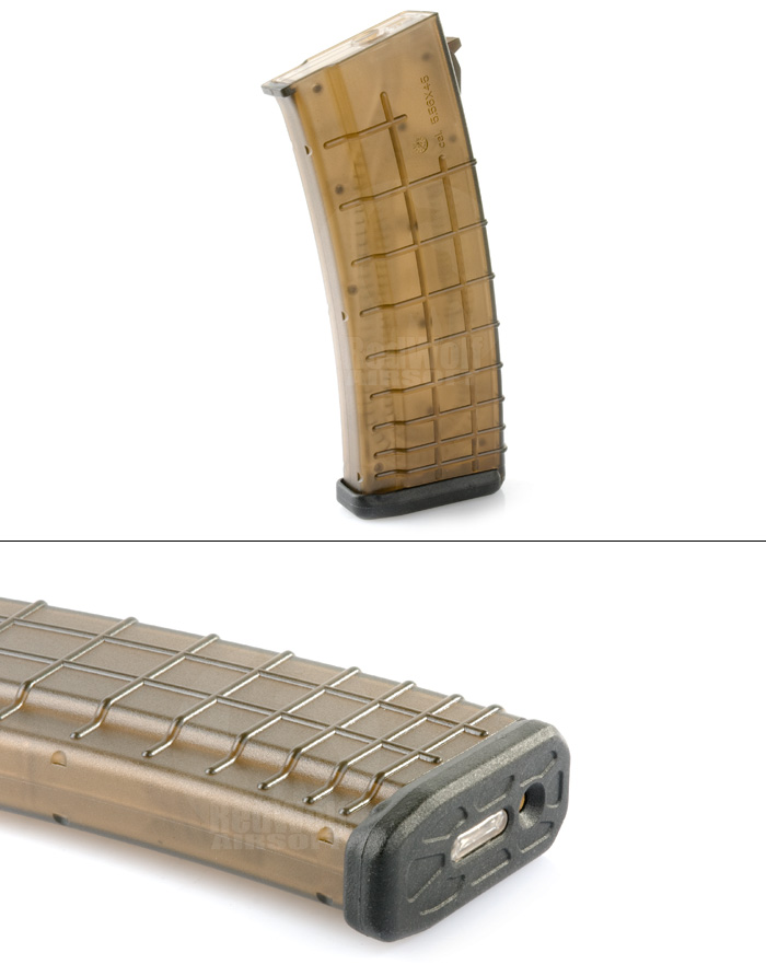 Beta Project 140rds Mid Cap Magazine for AK (Black)