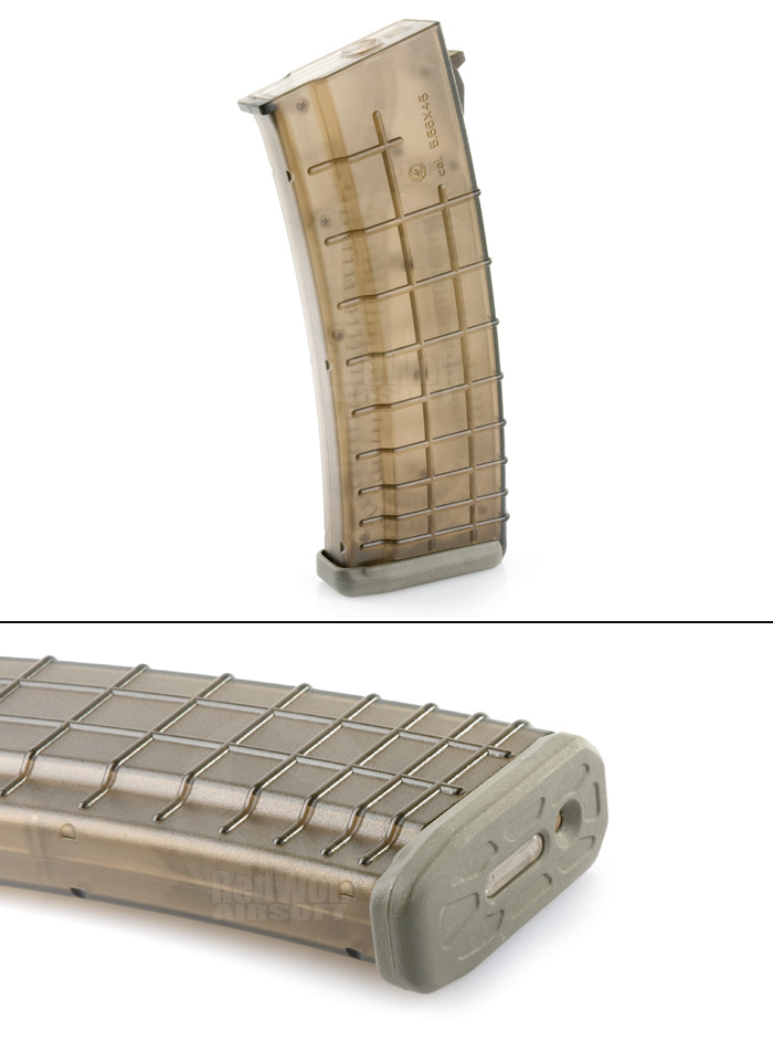 Beta Project 140rds Mid Cap Magazine for AK (Foliage Green)