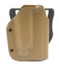 Blade-Tech Kydex Tactical Light Holster w/ Paddle for Kimber Warrior .45 with TLR1 (Right Hand, Dark Earth)(10015)