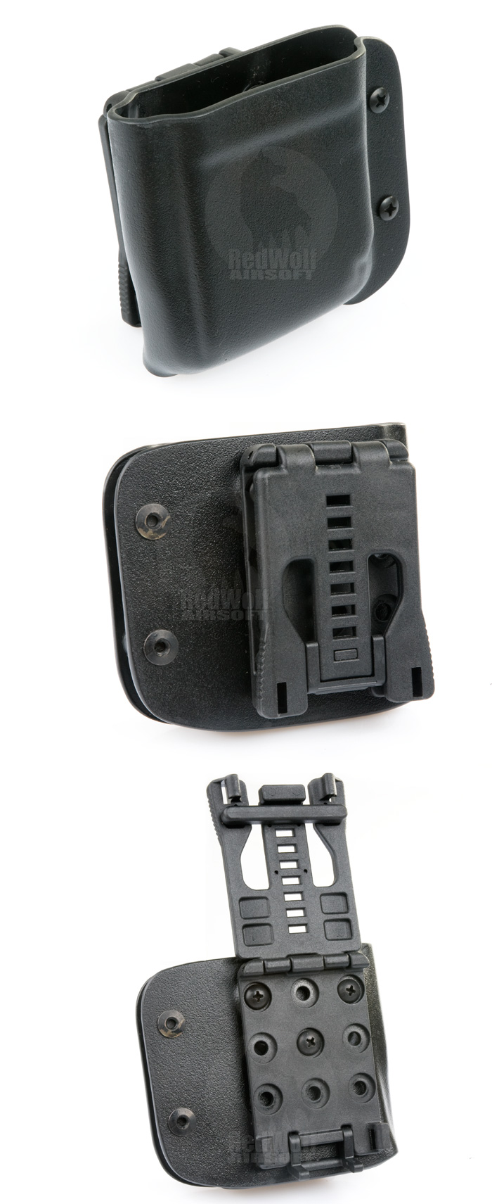 Blade-Tech Kydex Mag Pouch for PMAG w/ Tek Lock (Left Hand, Black)(30005)