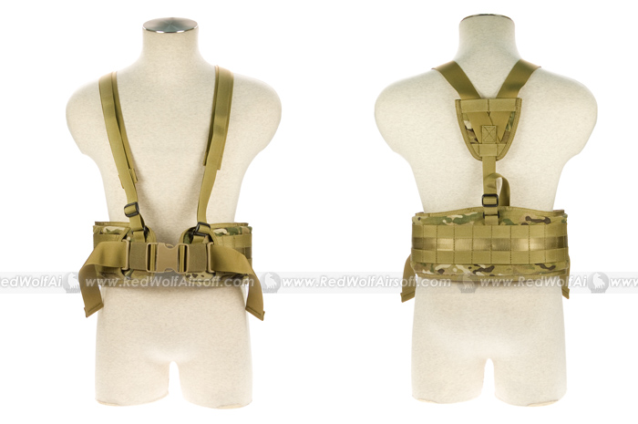 PANTAC Belt with Brace (Small / Crye Precision Multicam / CORDURA)
